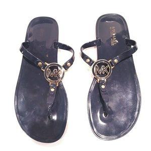 MK jelly flip flops harness size 8